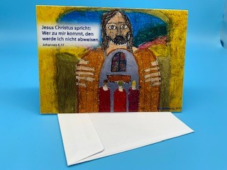 Losung 2022 Faltkarte mit Umschlag
