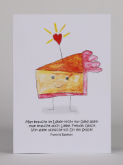 Torte mit Herz